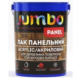 Лак панельный JUMBO Panel SL41 для деревянных поверхностей Глянцевый 0,7л