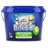BINGO 3 Краска интерьерная Premium блеск 3 (матовая, моющаяся) 10л (до 110м2)