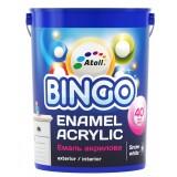 Эмаль Акриловая BINGO 40 Premium SF-180, универсальная 0,9 кг