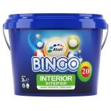 BINGO 20 Краска интерьерная Premium блеск 20 (полуматовая, моющаяся) 10л (до 110м2)