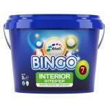 BINGO 7 Краска интерьерная Premium блеск 7 (Шелковистый глянец, моющаяся) 10л (до 110м2)