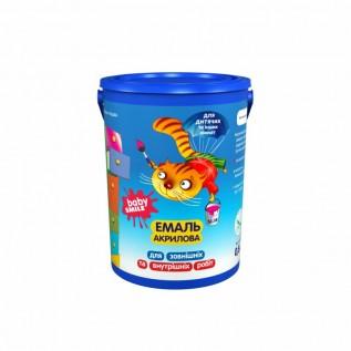 Эмаль Акриловая Baby Smile SF-18, Цвет: весенний ландыш 0,8 кг