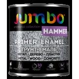 Эмаль Jumbo HAMMER Молотковая 2в1 Коричневый 0,7 л