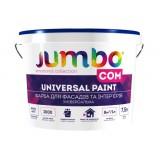 Jumbo Com- краска для фасадов и интерьеров 2,5 л / 4 кг