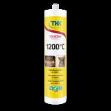 Герметик жаростойкий TEKADOM +1200 C (черный) 300 мл